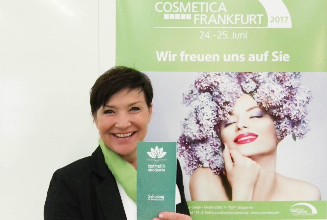 Ästhetik Akademie Aussteller auf der Fachmesse Cosmetica
